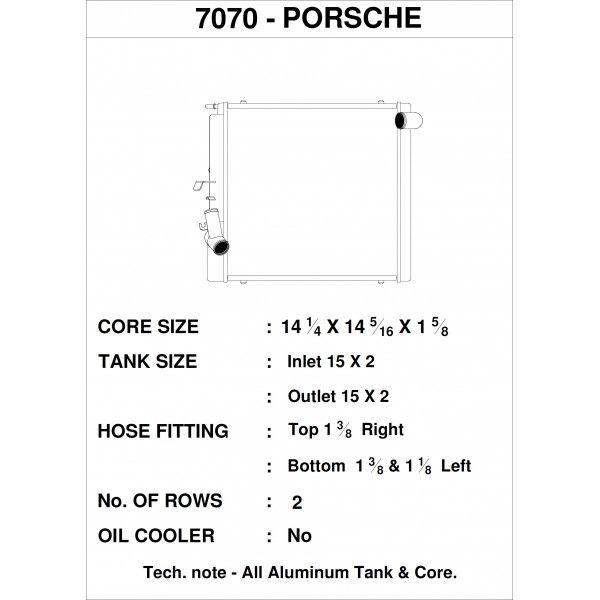 CSF Wärmetauscher Wasserkühler rechts für Porsche 991.2 Carrera, 991 911 Turbo | GT3/RS | CUP