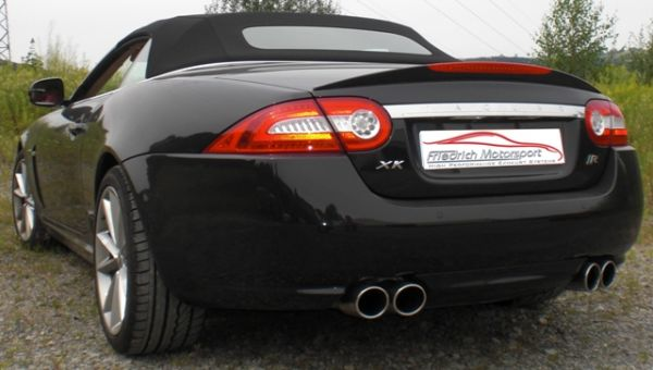 70mm Duplex Sportendschalldämpfer Jaguar XKR Cabrio