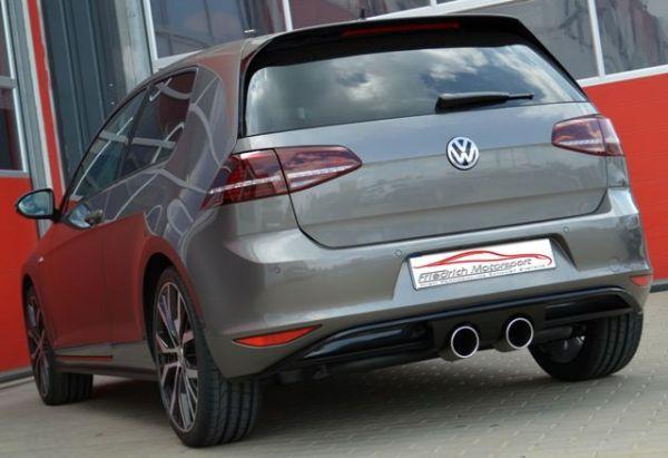 Duplex Endrohrsystem VW Golf VII GTD