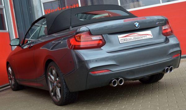 90mm Duplex-Sportendschalldämpfer BMW 2er F22 / F23