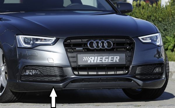 Rieger Spoilerlippe Audi A5 B8 B81 Coupe 10 11 Ab Facelift