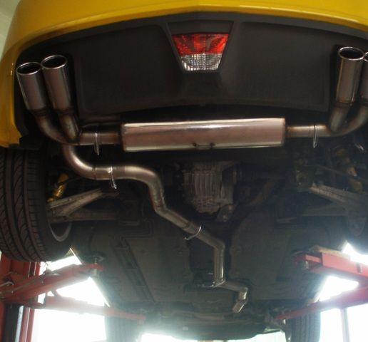 70mm Duplexanlage Opel GT