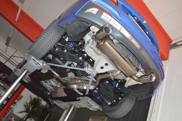 70mm Duplex-Anlage BMW 2er F22/F23