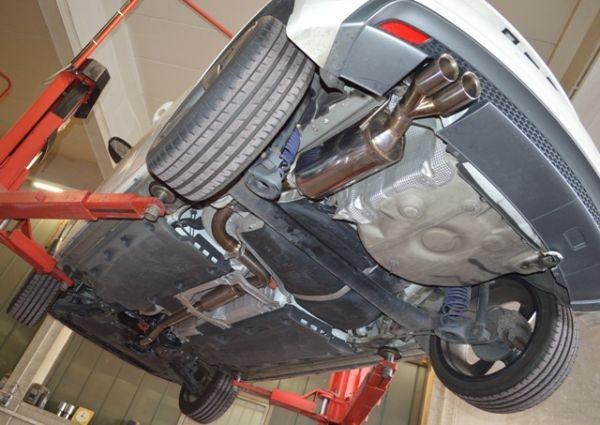 70mm Anlage Audi A1 und Sportback