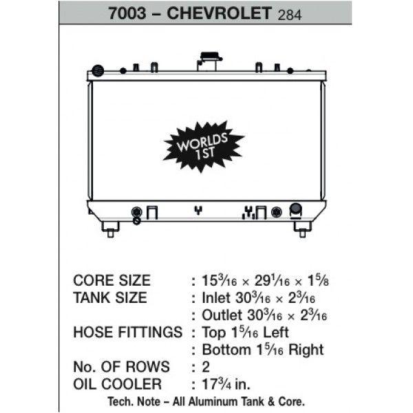 CSF Wärmetauscher Wasserkühler für Chevrolet Camaro V8 2010-2012 (Automatik und Handschalter)