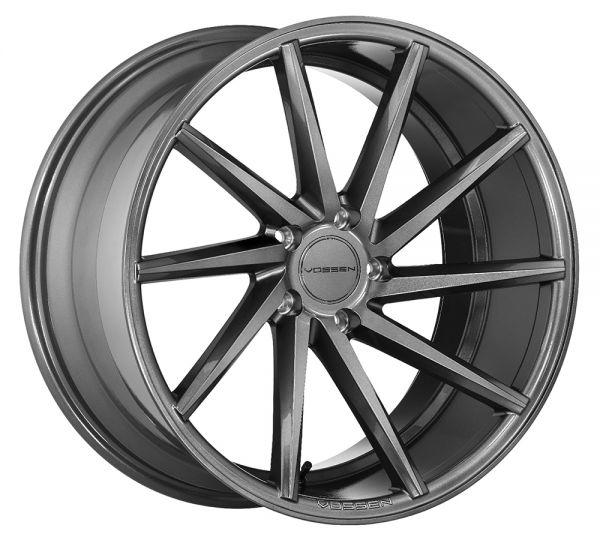 Vossen Felge CVT 10x20 Zoll LK 5x114,3 ET45 ML 73,1 in Graphite RIGHT+ Felgenpflegeset Gross