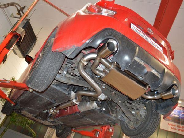 70mm Duplexanlage Toyota GT86 Coupe