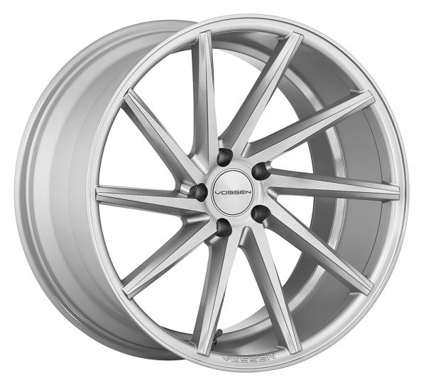Vossen Felge CVT 10,5x22 Zoll LK 5x120 ET38 ML 72,56 in Silver RIGHT+ Felgenpflegeset Gross