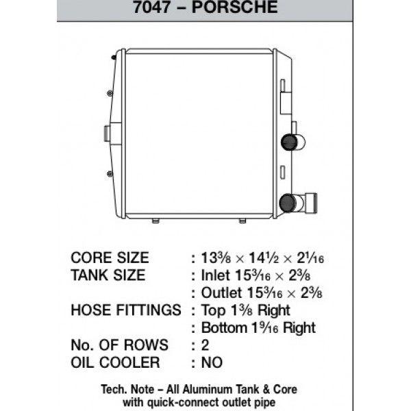 CSF Wärmetauscher Wasserkühler für Porsche Boxster (987) | Cayman | 911er (997) | GT3 links