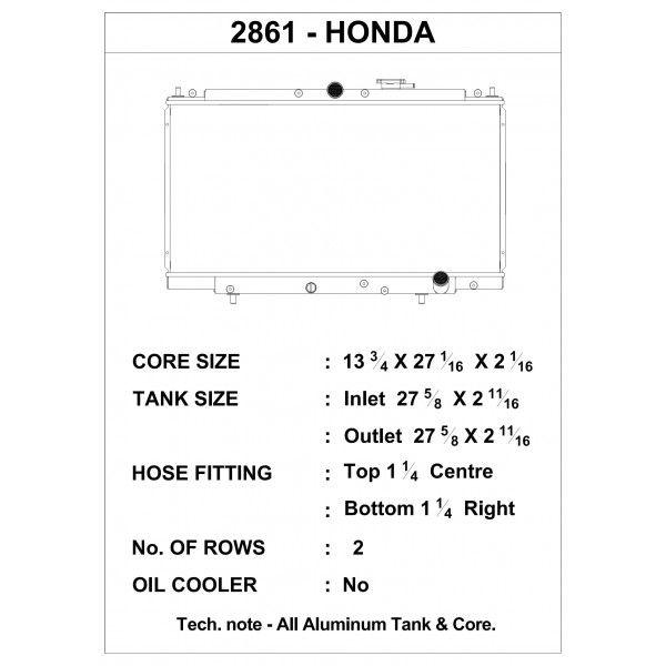 CSF Wärmetauscher Wasserkühler für Hona Prelude 1997-2001