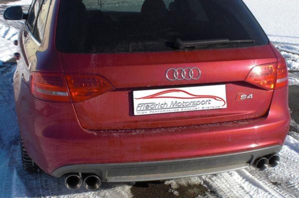70mm Duplex Sportendschalldämpfer Audi S4 B8 Quattro