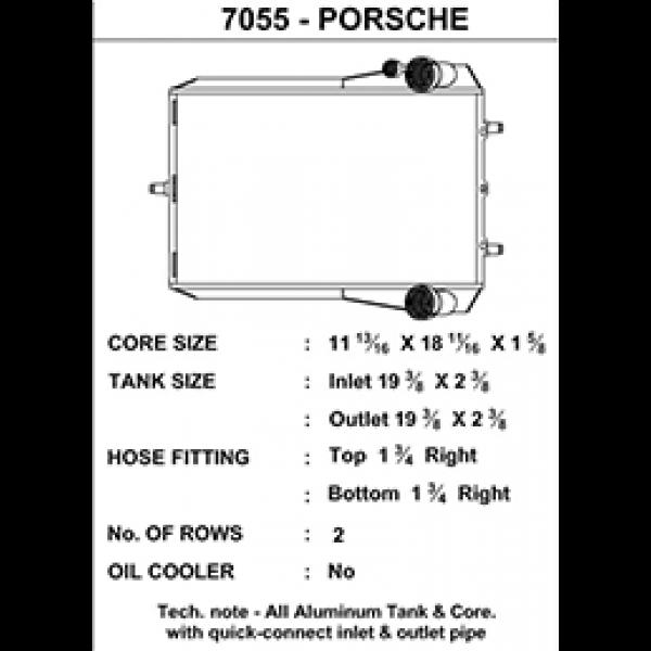 CSF Wasserkühler für Porsche 911 Turbo (996 | 997), GT2 (996 | 997), GT3 (996) RECHTS