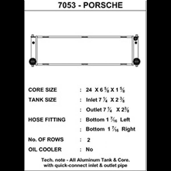 CSF Wärmetauscher Wasserkühler mitte für Porsche 996 (911 Turbo | 911 GT2), 997 (911 GT3 | 911 GT2)