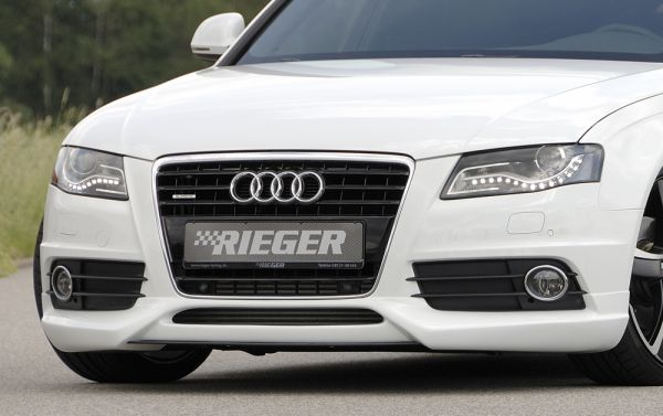 Rieger Spoilerlippe Audi A4 S4 (B8/B81) Lim. 11.08-12.11 (bis Facelift)