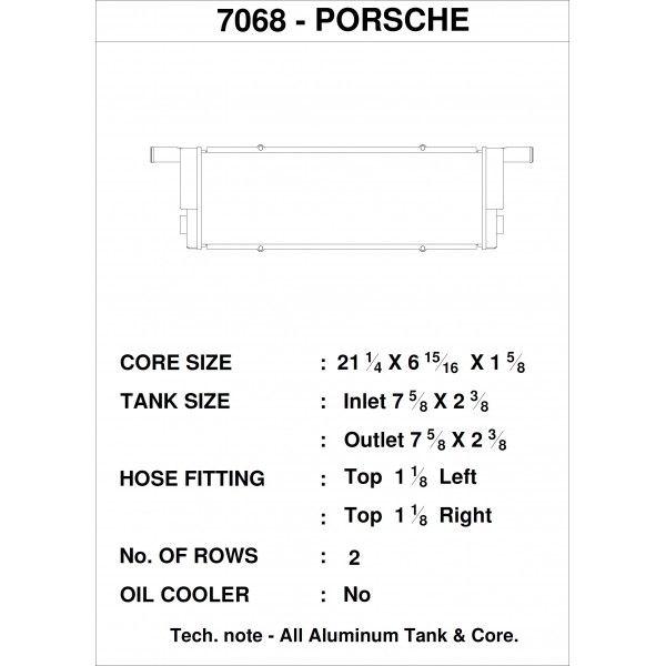 CSF Wärmetauscher Wasserkühler rechts für Porsche 991.2 Carrera | 911 Turbo | 991 GT3/RS | 991 CUP