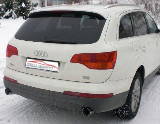 Duplex Endrohrsystem Audi Q7 (4L)