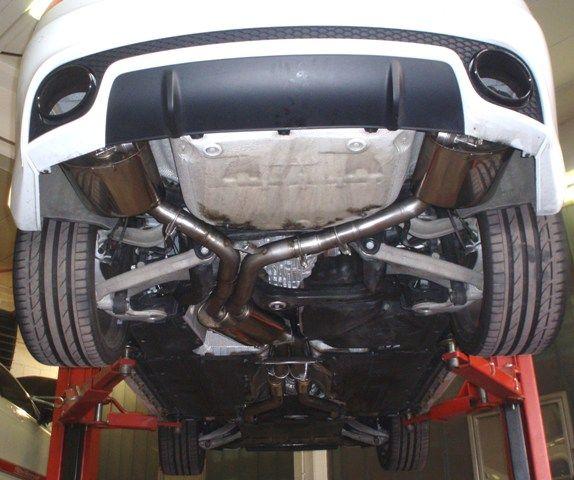 70mm Duplexanlage mit Klappensteuerung Audi RS5 B8 Coupe Quattro