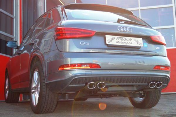 70mm Duplexanlage Audi Q3 8U