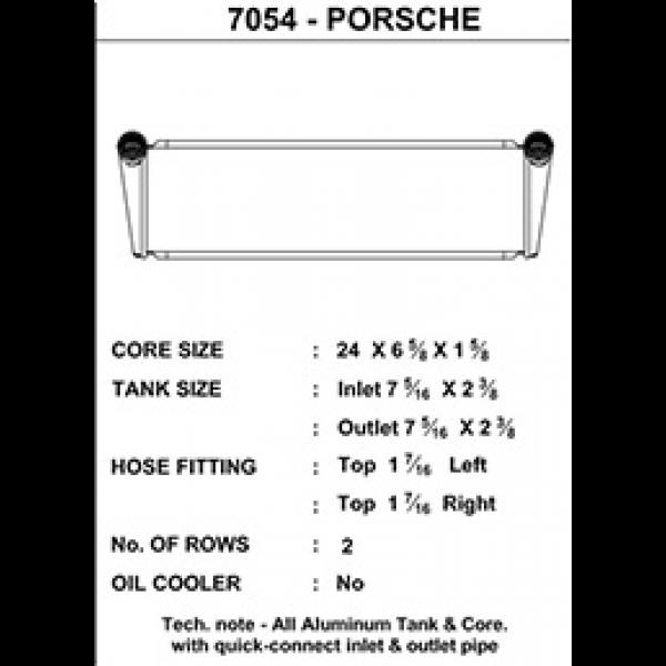 CSF Wasserkühler für Porsche 911 Turbo (997) MITTE