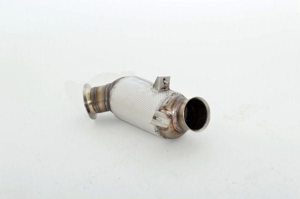 90mm Downpipe mit 300 Zellen HJS Sport-Kat. Edelstahl