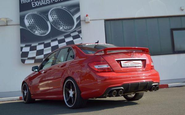 2x70mm Duplexanlage Mercedes W204 C63 AMG