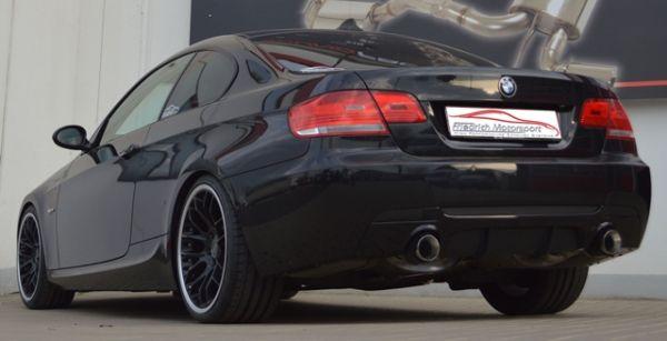 Ø 2x70mm Duplex-Sportendschalldämpfer BMW E92/E93