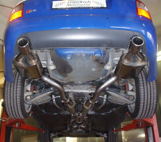 70mm Duplexanlage Audi A4 B6 (8E) Quattro S4