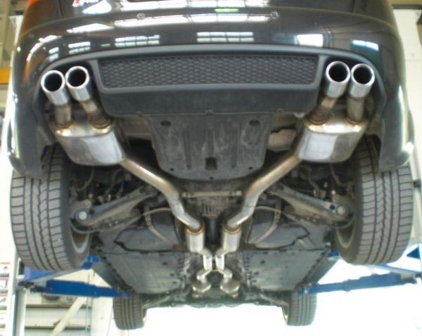 70mm Duplexanlage Audi RS4 B7 (8EC/8ED/8H) Quattro
