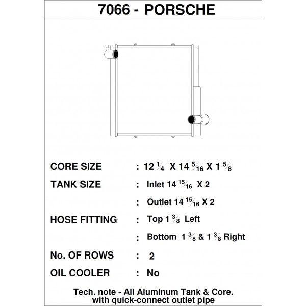 CSF Wärmetauscher Wasserkühler links für Porsche 911 Carrera (991.1)| Boxster (981)| GT4 | Cayman