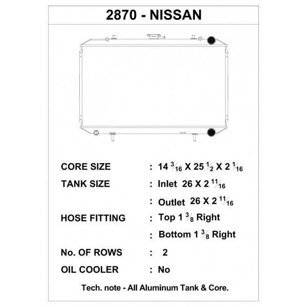 CSF Wärmetauscher Wasserkühler für Nissan 240SX (KA24E Motor)