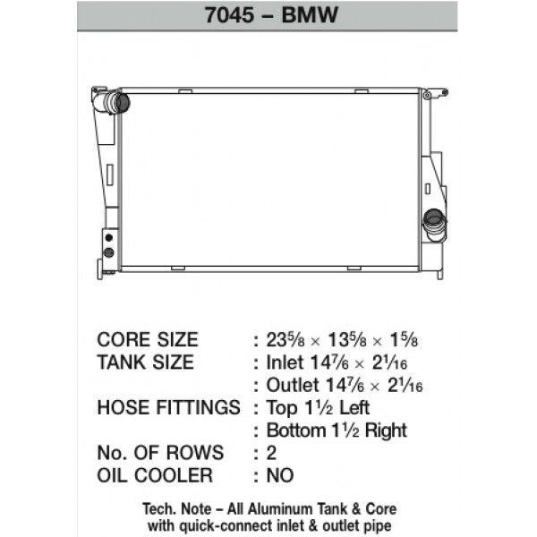 CSF Wärmetauscher Wasserkühler für BMW 1M 135i 335 Handschalter