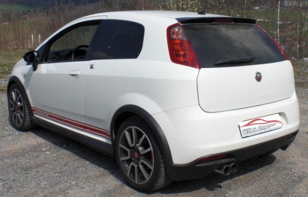 70mm Anlage Fiat Grande Punto Abarth und Evo