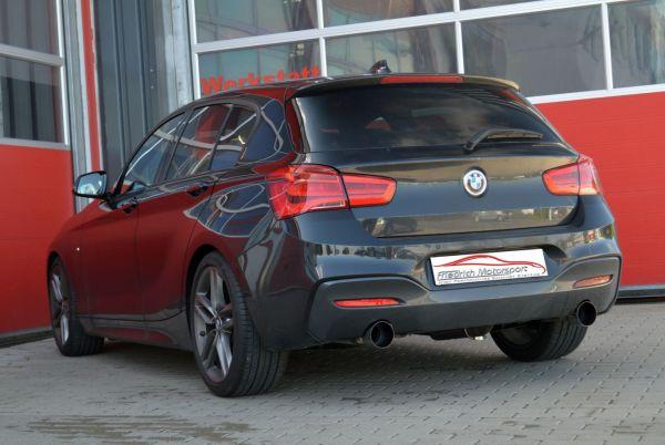70mm Duplex-Sportendschalldämpfer BMW 1er F20/F21