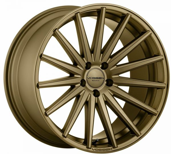 Vossen Felge VFS2 12x21 Zoll LK 5x120 ET25 ML 72,56 in Satin Bronze DEEP FACE+ Felgenpflegeset Gross