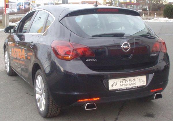70mm Duplexanlage Opel Astra J