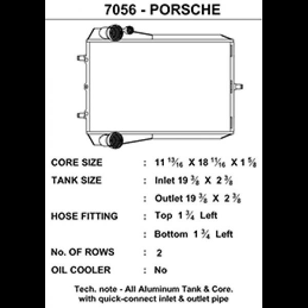 CSF Wasserkühler für Porsche 911 Turbo (996 | 997), GT2 (996 | 997), GT3 (996) LINKS