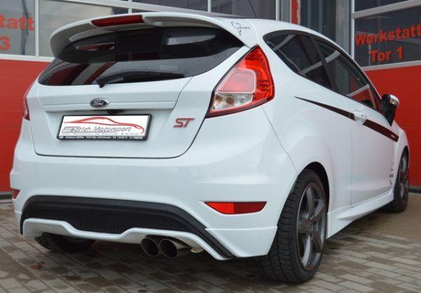 70mm Sportendschalldämpfer Ford Fiesta JA8 ST Facelift