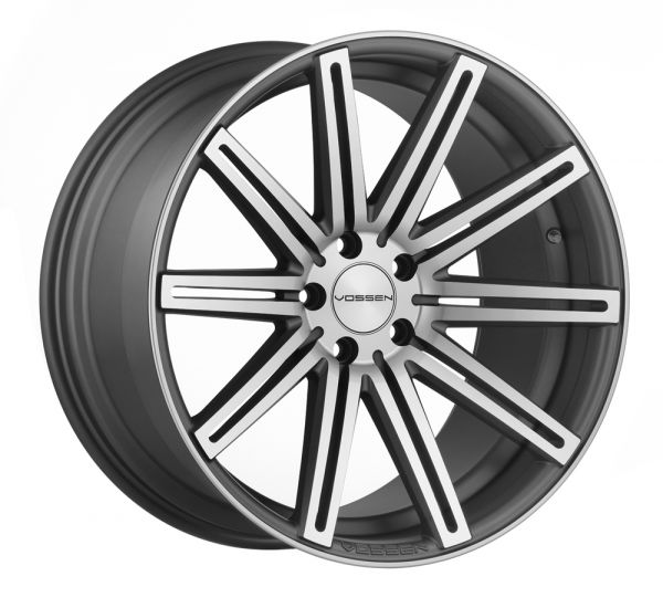 Vossen Felge CV4 9x22 Zoll LK 5x130 ET45 ML 71,6 in Matte Graphite Machined+ Felgenpflegeset Gross