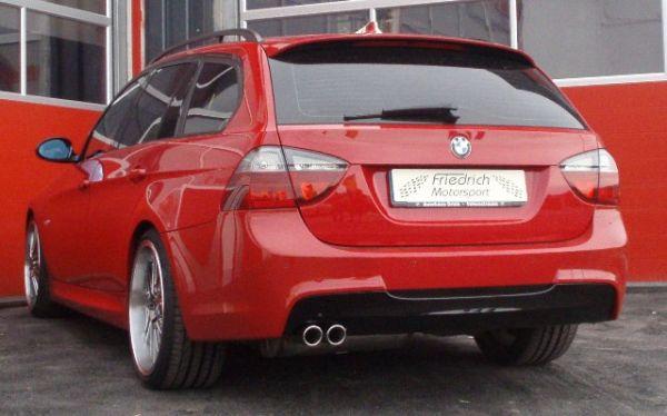 70mm Sportendschalldämpfer BMW E91