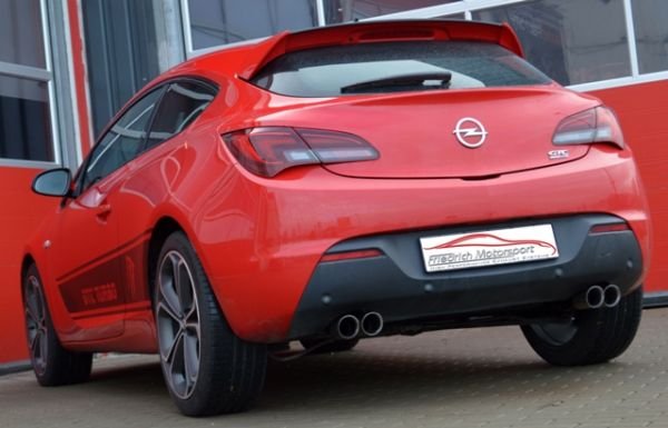 70mm Duplexanlage Opel Astra J GTC